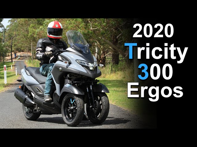 Yamaha Tricity 300 Ergonomics & Seat Height