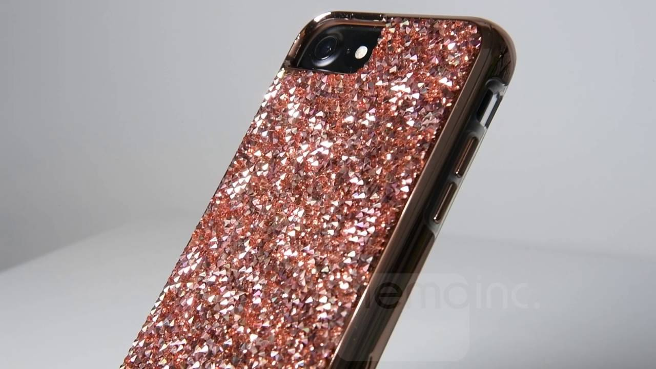 best sneakers b098f ea797 Case Mate Premium Collection Brilliance case in Rose Gold on an Apple  iPhone 7 - DEMONSTRATION ONLY