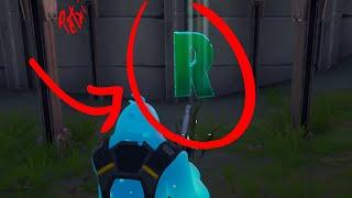 ¿Dónde buscar la letra R escondida? Desafío de Fortnite  #teampatxi | Patxi Games