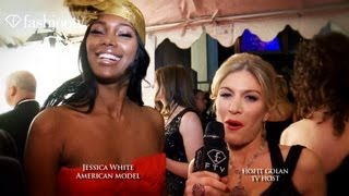 Jessica White Interview at NYFW Hosted by Hofit Golan | FashionTV