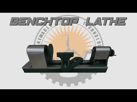 🛠 Build The BEST DIY Benchtop Lathe - Plans Available 📄
