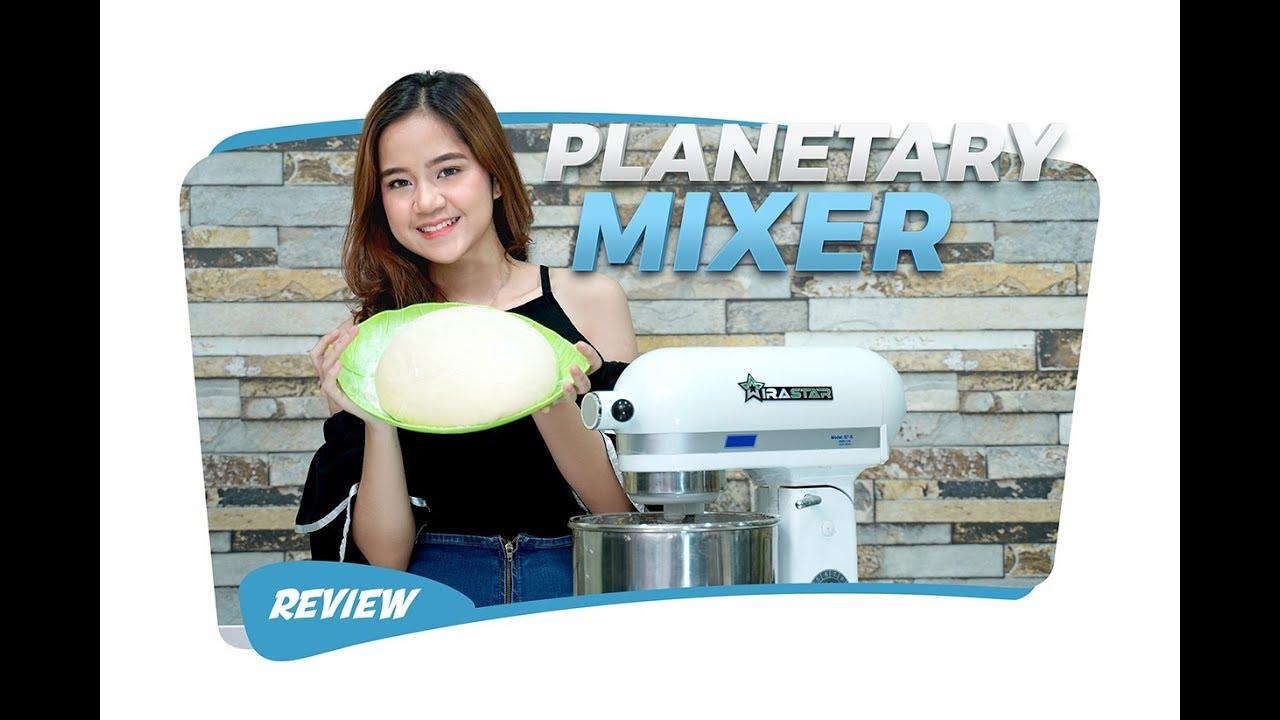 REVIEW Planetary Mixer B Series WIRASTAR - Mesin Mixer Adonan Roti & Kue  Untuk usaha Cake & Bakery - YouTube