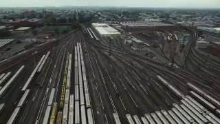 MTA TRAIN HUB AT CONEY ISLAND ---------  DJI PHANTOM 3 ------