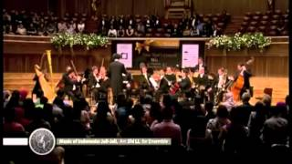 Indonesia Folk Song at Jakarta Classical Concert Hall
