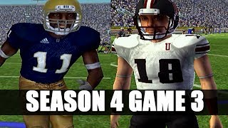 NCAA FOOTBALL 2006 PRIME U DYNASTY - OH THIS TEAM - VS NOTRE DAME (s4g3)