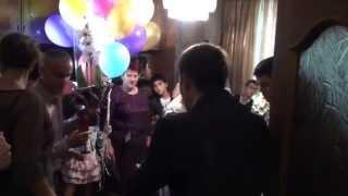 Ден свадьбы ...в доме невесты открываем шампанское