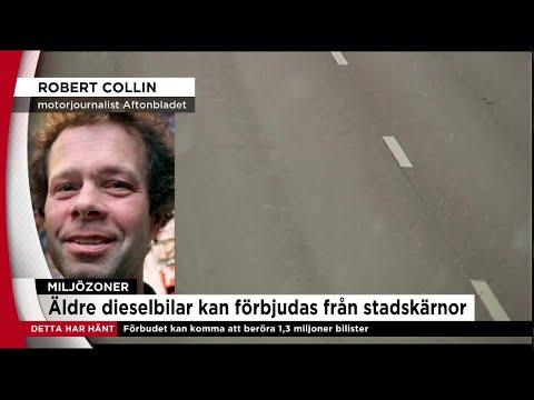 LIVE: Äldre dieselbilar kan portas från stadskärnor - Nyheterna (TV4)