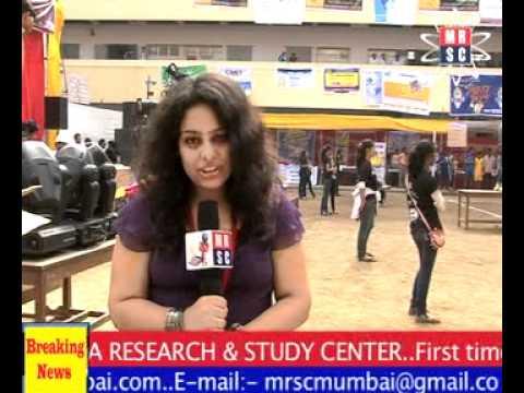 Media Research & Study Center - Outdoor Walkthrough on Kelkar College Festival - by Samiksha