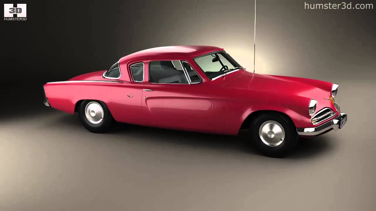 Studebaker champion commander starlight coupe 1953 by 3d - 1953 studebaker champion starlight coupe ...