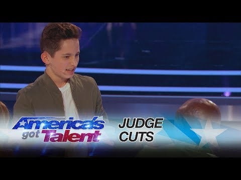 Henry Richardson: Young Magician Performs Unbelievable Card Tricks - America's Got Talent 2017