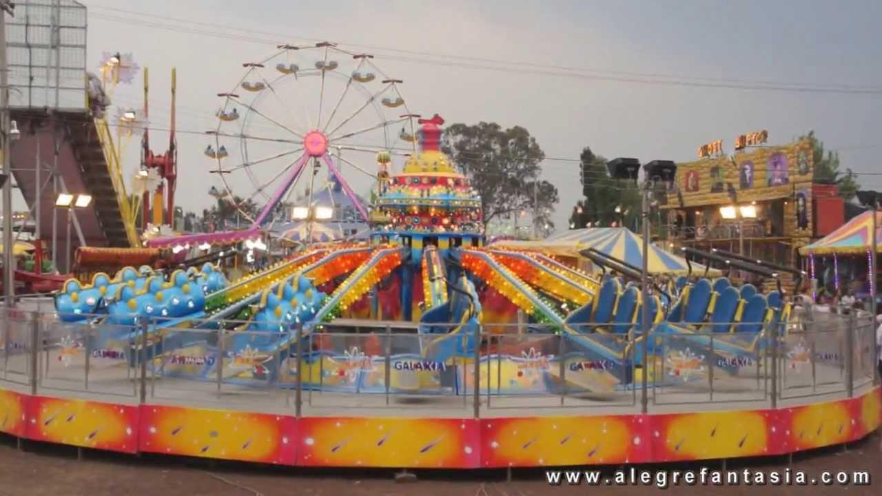 Feria Texcoco 2013 Juegos Mecanicos Alegre Fantasia Youtube