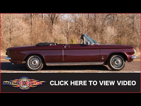 1963 Chevrolet Corvair Monza (SOLD)