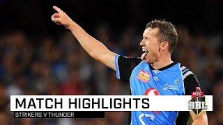 Strikers finish 2018 on a high | KFC BBL|08