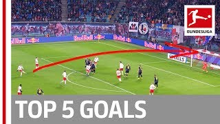 Tolisso, Forsberg & More - Top 5 Goals on Matchday 12