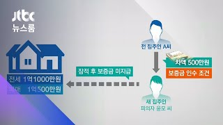 전셋값 역전 '보증금 떼먹기'…신종 '갭투자 사기' / JTBC 뉴스룸