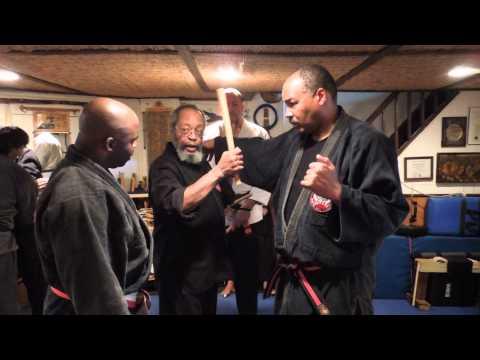 Zulu stick training