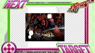 Shingeki no Kyojin X Avengers:Spiderman Vs Titans AW Comic Render