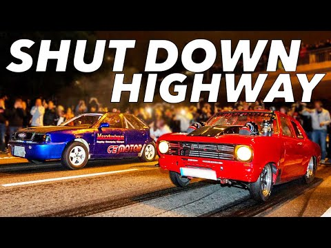 Cops Can't Stop These Races - SWEDEN Street Racing!