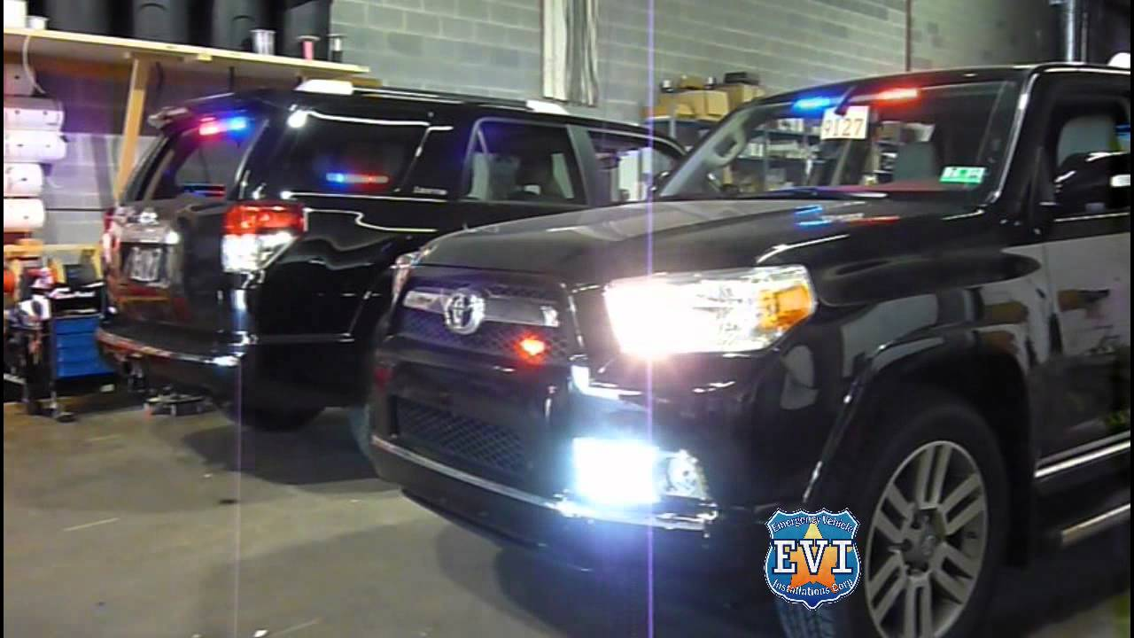Police Cop Car Live Wallpaper Undercover 2011 Toyota 4runner Evi Built Youtube