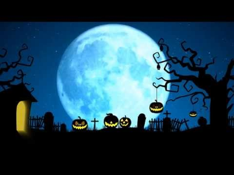 Scary Halloween motion graphics 4k - YouTube