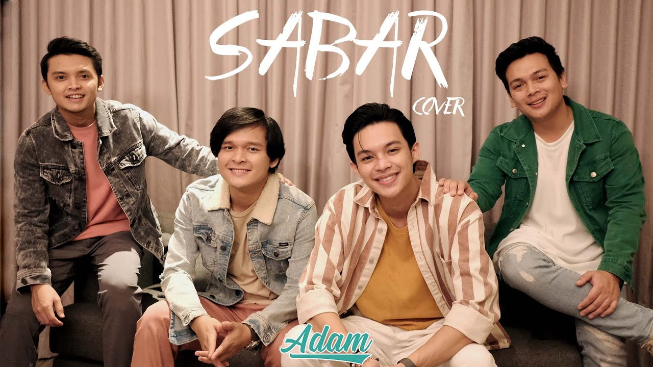 SABAR - ADAM (VIDEO MUSIC COVER + LYRIC)