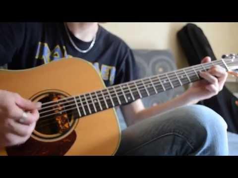 pop-punk/easycore-riffing-on-acoustic-guitar