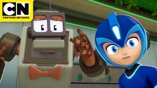 Mega Man: Fully Charged | The Big Fade Away | Cartoon Network