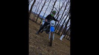 Yamaha Dt 90| Sam przez las 😂