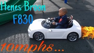HENES BROON F830 BEST ELECTRIC CAR FOR TODDLERS ( MINI TESLA ) FOR KIDS