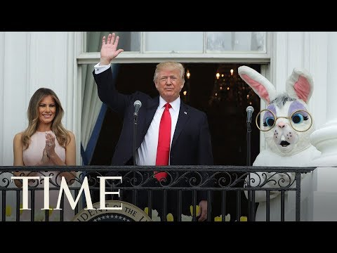 President Trump And The First Lady Host The White House Easter Egg Roll | TIME