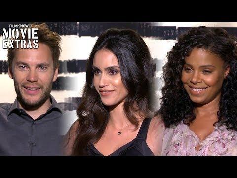 American Assassin 2017 Taylor Kitsch, Shiva Negar & Sanaa Lathan talk about the movie