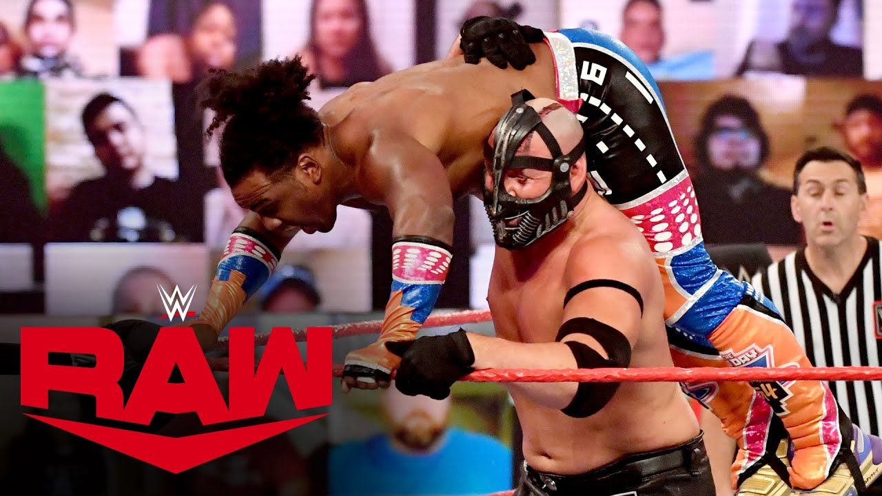 Xavier Woods vs. T-BAR: Raw, Jan. 11, 2021