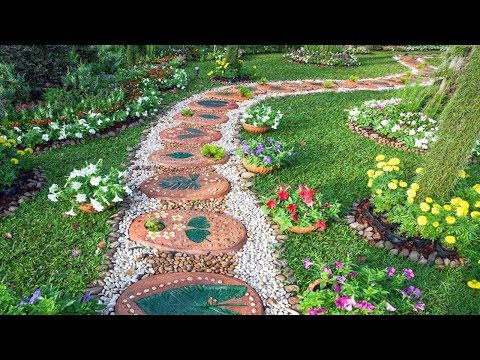 Modern Garden Ideas - Small and Big Garden Decoration Design