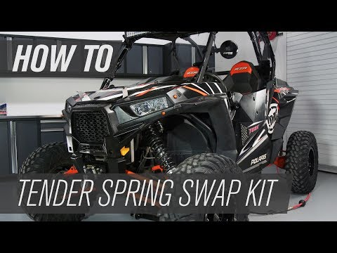 How To Install Polaris Tender Spring Swap Kit | RZR XP 1000