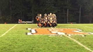 Rockville High School Poms Homecoming 10/7/16