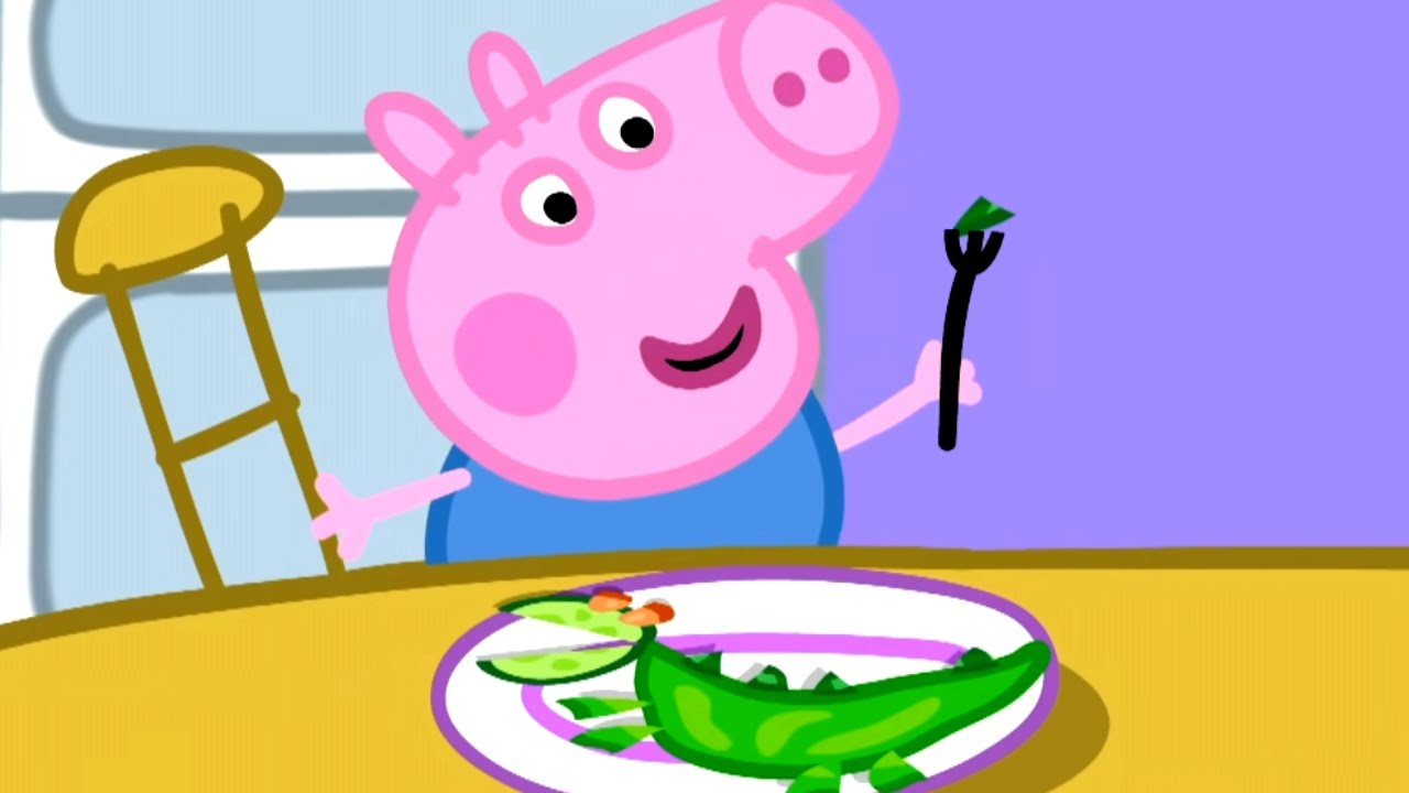 Peppa Pig Official Channel Vegetables For George Peppa Pig Christmas
