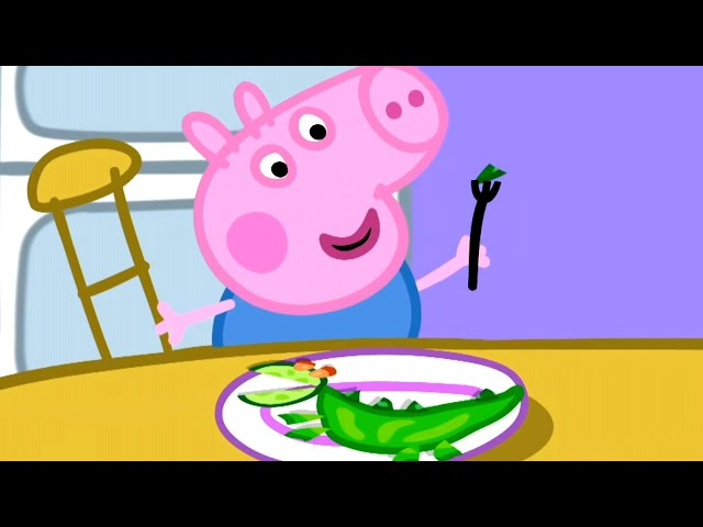Peppa Pig English Episodes 🎄Vegetables for George 🎄 Peppa Pig Christmas