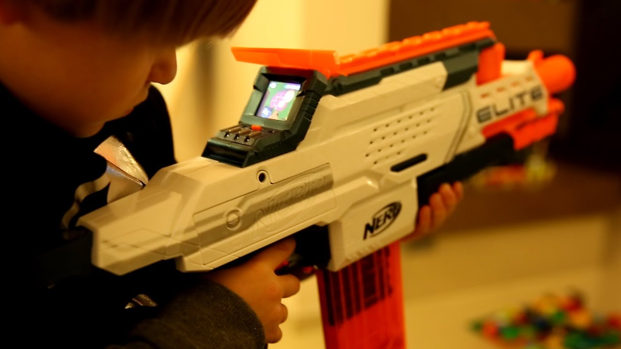 Coolest Toy Ever : Best nerf gun toy ever elite cam ecs youtube