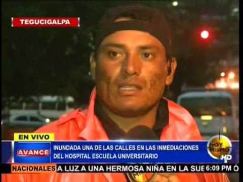 TVC Hoy Mismo- Inundadas calles de Tegucigalpa tras intensas lluvias