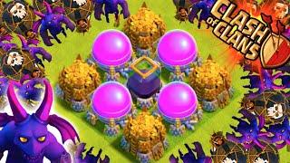 "Clash of Clans - BIG LOOT FARMING! ""MASTERS LEAGUE LOOT"" Epic Loonion Farming!"