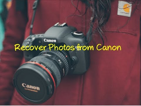Camera Photo Recovery - Recover Photos From Canon
