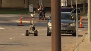Suspicious vehicle forces evacuation, road closure in downtown Tulsa Top 10 Video