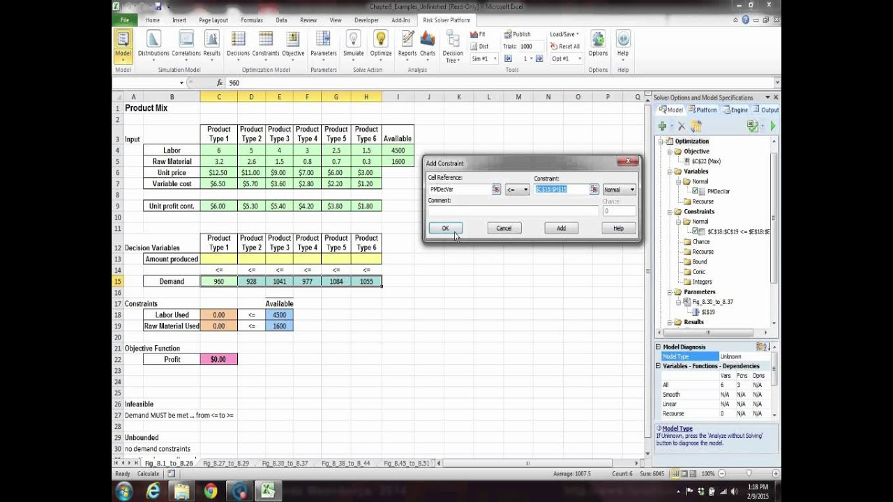 developing spreadsheet based decision support systems video fig 81 to 826