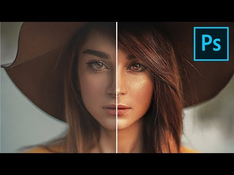 The Professional Golden Shine Effect in Photoshop thumbnail