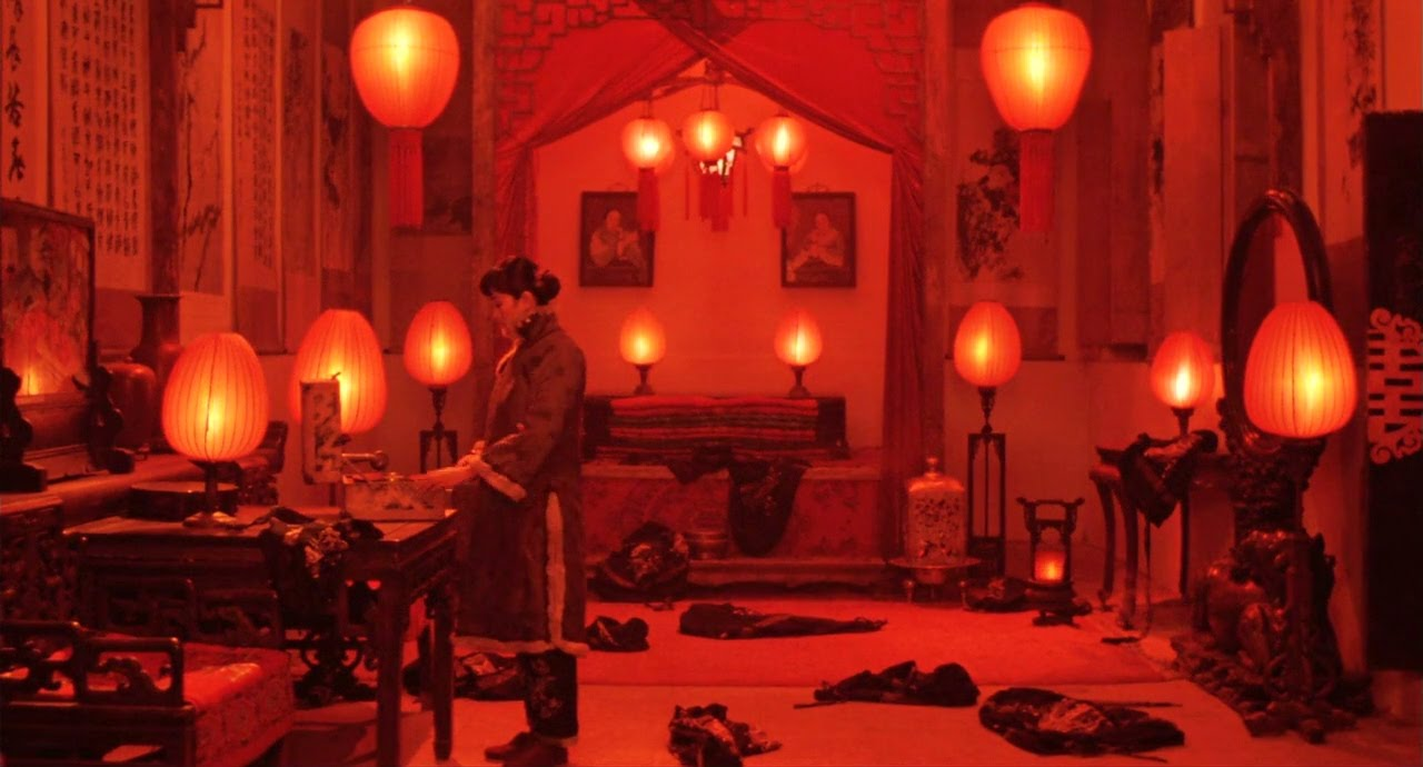the lifestyles in china in the movie raise the red lantern