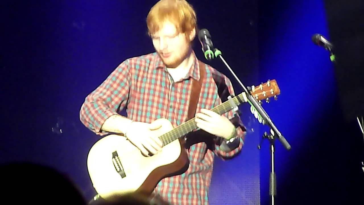 Ed Sheeran Give Me Love Live Iss Dome D Sseldorf Youtube