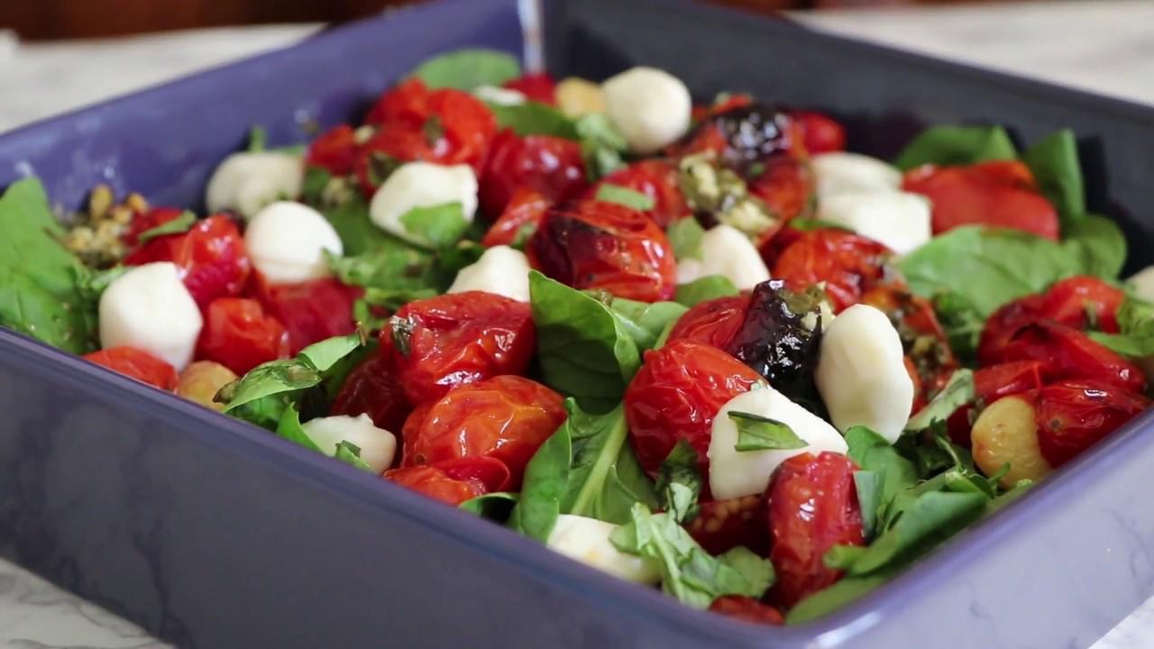 Roasted Caprese Salad Recipe