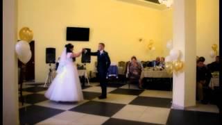 Свадебное видео танца молодоженов в Волжском
