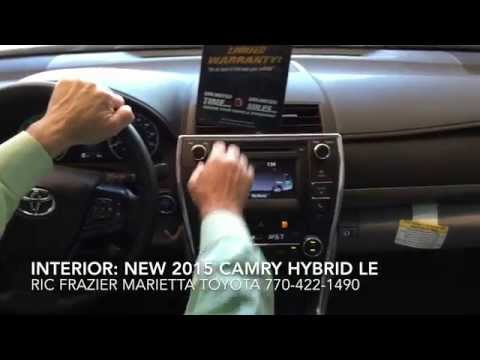 New 2015 Toyota Camry Hybrid LE Interior and Exterior Features by Ric Frazier