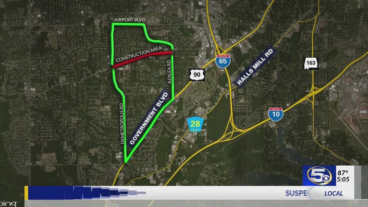 VIDEO: Construction on Cottage Hill Road work brings traffic backups, on il road closures map, ill weather map, illinois road map,